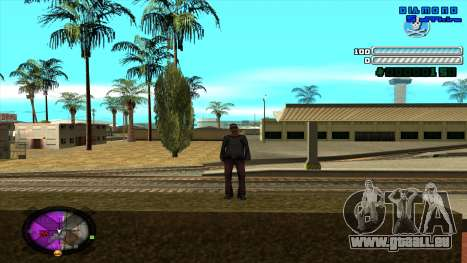 C-HUD Respect für GTA San Andreas