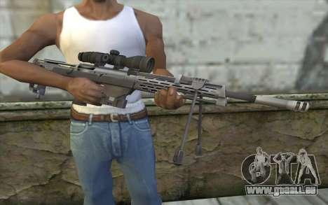 Sniper Rifle from Sniper Ghost Warrior pour GTA San Andreas troisième écran