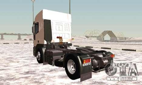 Iveco EuroTech Brennbar für GTA San Andreas rechten Ansicht