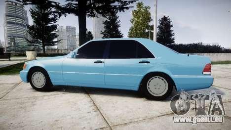 Mercedes-Benz 600SEL W140 pour GTA 4 est une gauche