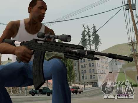Heavy Sniper Rifle from GTA V pour GTA San Andreas deuxième écran