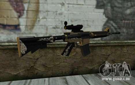 M4A1 from PointBlank pour GTA San Andreas deuxième écran