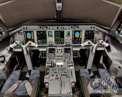 Embraer E-190 Air Canada pour GTA San Andreas salon