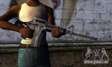 M4 from Far Cry für GTA San Andreas dritten Screenshot