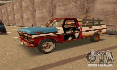 Ford PickUp Rusted pour GTA San Andreas
