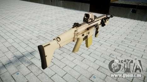 Maschine FN SCAR-L Mk 16 Ziel icon2 für GTA 4 Sekunden Bildschirm