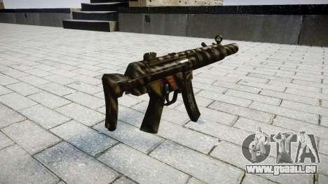 Pistolet MP5SD NA CS pour GTA 4 secondes d'écran