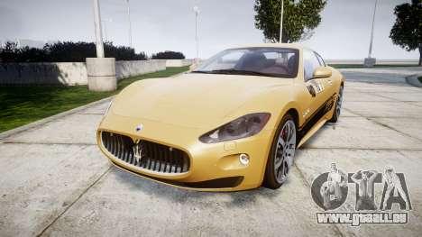 Maserati GranTurismo S 2010 PJ 1 für GTA 4