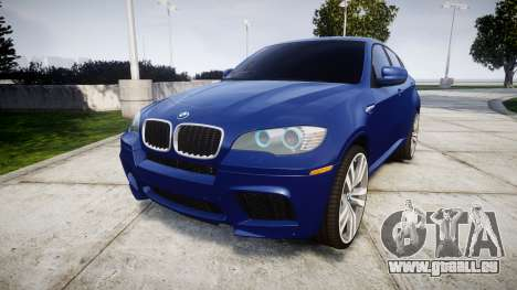 BMW X6M rims1 für GTA 4