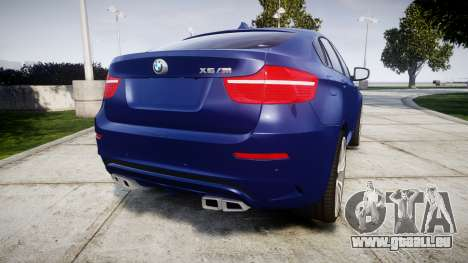 BMW X6M rims1 für GTA 4 hinten links Ansicht