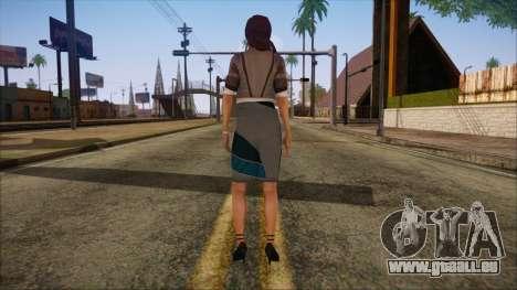Modern Woman Skin 8 pour GTA San Andreas deuxième écran
