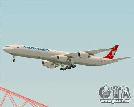 Airbus A340-600 Turkish Cargo pour GTA San Andreas vue de droite