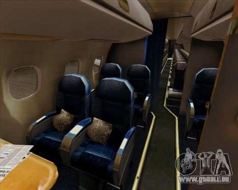 Embraer E-190 Air Canada pour GTA San Andreas roue