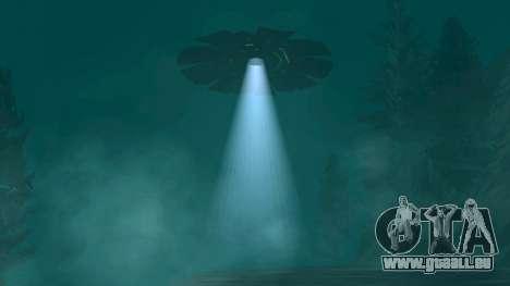 UFO über San Andreas für GTA San Andreas