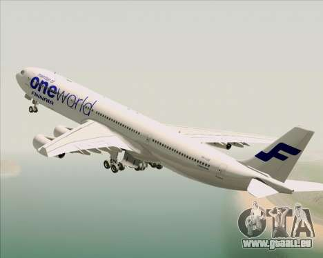 Airbus A340-300 Finnair (Oneworld Livery) pour GTA San Andreas