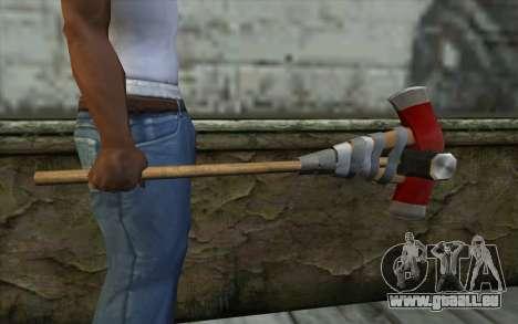 Defiler From Dead Rising 2 pour GTA San Andreas troisième écran