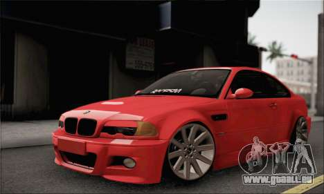 BMW M3 Coupe Tuned für GTA San Andreas