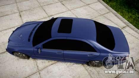 Mercedes-Benz W220 S65 AMG pour GTA 4 est un droit