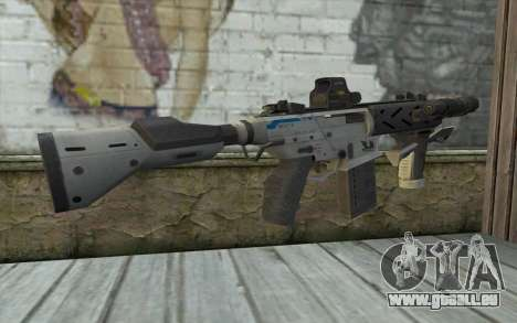 Peacekeeper from Call of Duty Black Ops II pour GTA San Andreas deuxième écran