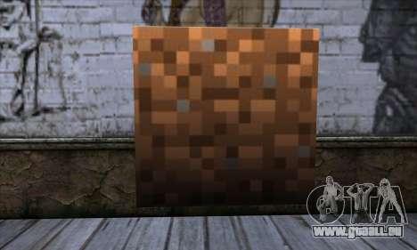 Block (Minecraft) v9 für GTA San Andreas
