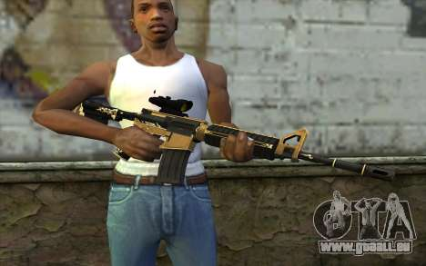 M4A1 from PointBlank für GTA San Andreas dritten Screenshot