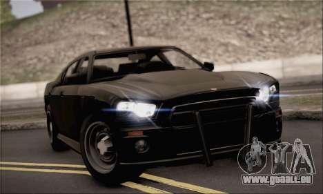 Bravado Buffalo S FIB für GTA San Andreas