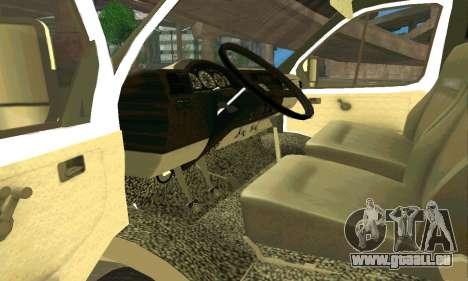 Gazelle Schlepptau 33023 Beta v1.2 für GTA San Andreas rechten Ansicht