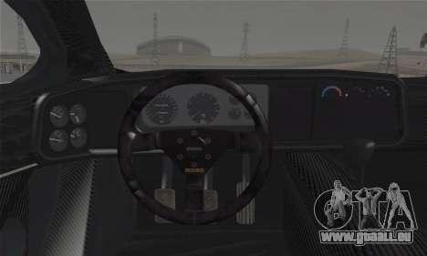 Jaguar XJ220S Ultimate Edition pour GTA San Andreas sur la vue arrière gauche