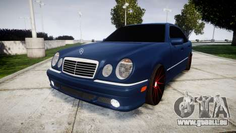 Mercedes-Benz W210 E55 2000 AMG Vossen VVS CVT für GTA 4