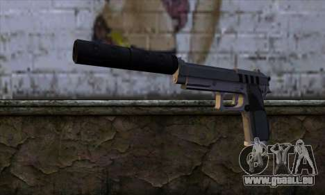 Silenced Pistol from GTA 5 pour GTA San Andreas