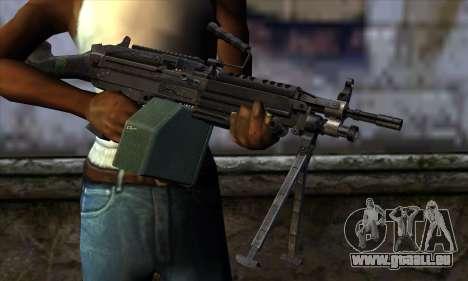 M249 v2 für GTA San Andreas dritten Screenshot