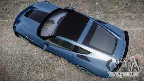 Chevrolet Corvette Z06 2015 TireMi1 pour GTA 4 est un droit