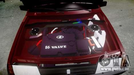 VAZ-Sat-21099 für GTA 4 Seitenansicht