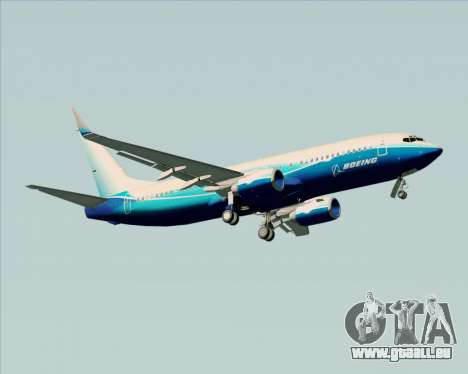 Boeing 737-800 House Colors für GTA San Andreas rechten Ansicht