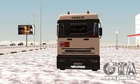 Iveco EuroTech Inflammable pour GTA San Andreas laissé vue
