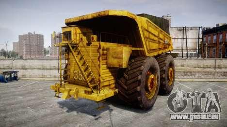 Mining Truck pour GTA 4