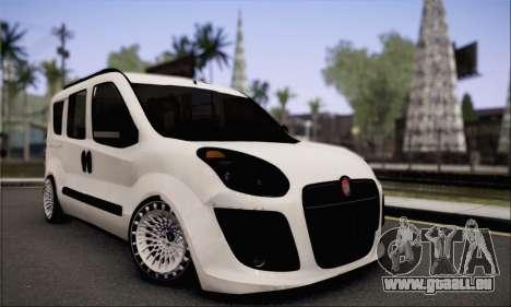 Fiat Doblo 2010 Edit für GTA San Andreas