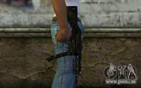 MP5 pour GTA San Andreas troisième écran