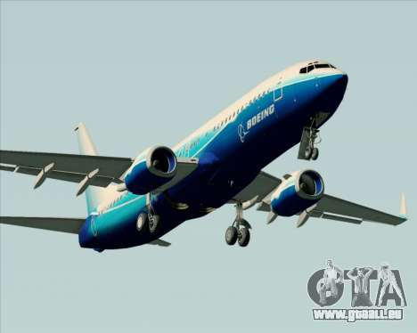 Boeing 737-800 House Colors für GTA San Andreas Motor