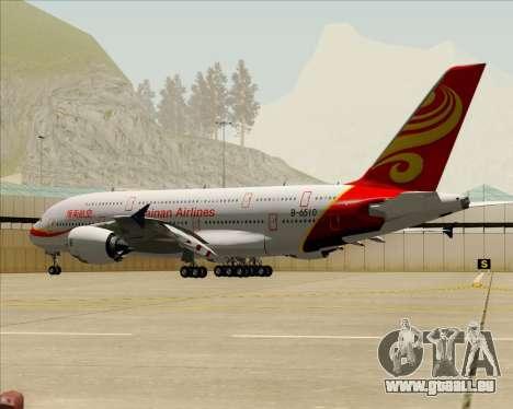 Airbus A380-800 Hainan Airlines für GTA San Andreas