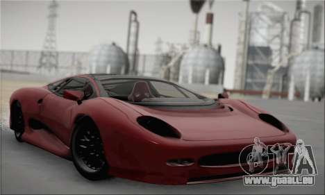 Jaguar XJ220S Ultimate Edition für GTA San Andreas
