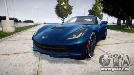 Chevrolet Corvette C7 Stingray 2014 v2.0 TirePi1 pour GTA 4