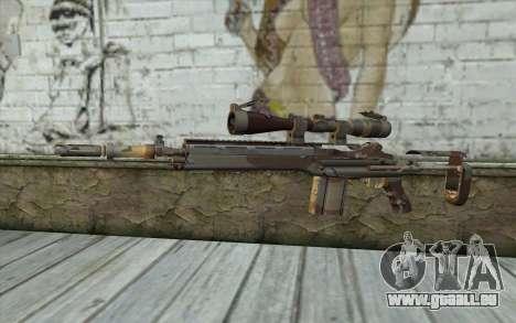 M14 EBR Chipdesert pour GTA San Andreas
