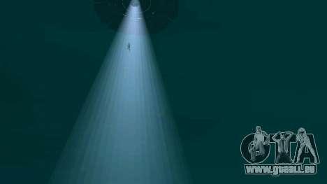 OVNI au-dessus de San Andreas pour GTA San Andreas neuvième écran