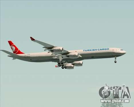 Airbus A340-600 Turkish Cargo pour GTA San Andreas vue de côté