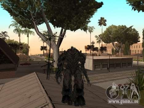 Transformers 3 Dark of the Moon Skin Pack pour GTA San Andreas sixième écran