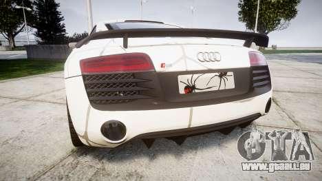 Audi R8 LMX 2015 [EPM] Cobweb pour GTA 4 Vue arrière de la gauche