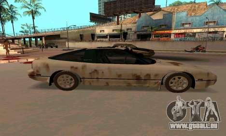Nissan 240SX Rusted pour GTA San Andreas laissé vue