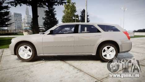 Dodge Magnum 2004 [ELS] Liberty County Sheriff für GTA 4 linke Ansicht