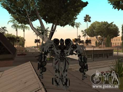 Transformers 3 Dark of the Moon Skin Pack pour GTA San Andreas